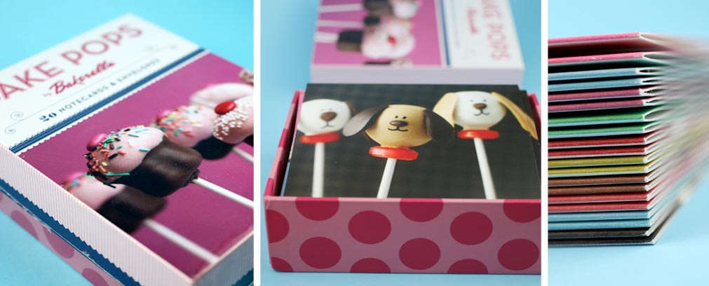 Cake Pops Notecards